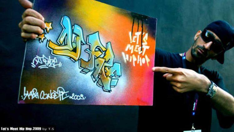 toile graffiti festival