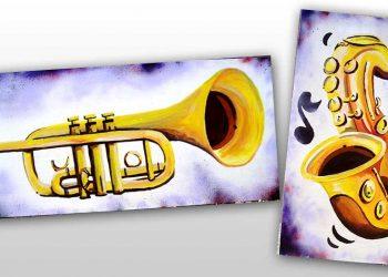 décoration graffiti musique