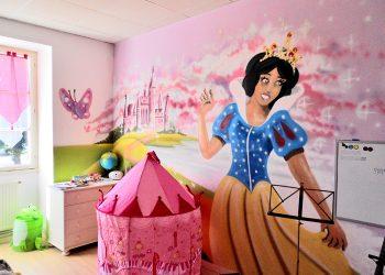 decoration graffiti chambre de princesse