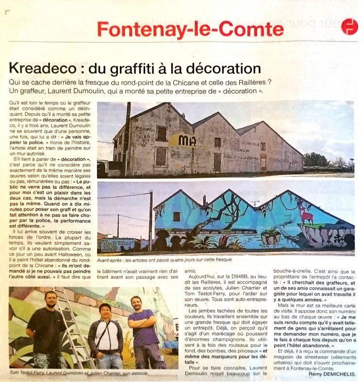 fresque géante graffiti