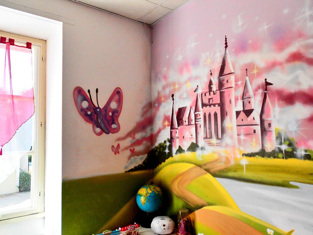 Chambre d'enfant princesse