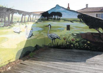 décoration graffiti marais poitevin