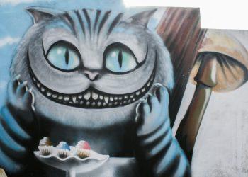 decoration graffiti film alice au pays des merveilles