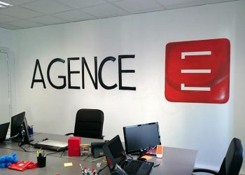 decoration graffiti logo agence web