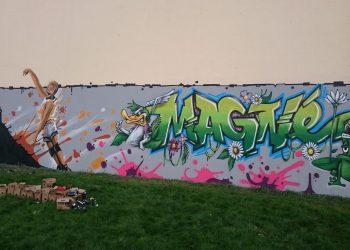 animation graffiti magné