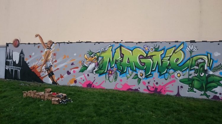 animation graffiti magné