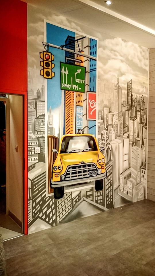 décoration chambre d'enfant newyork