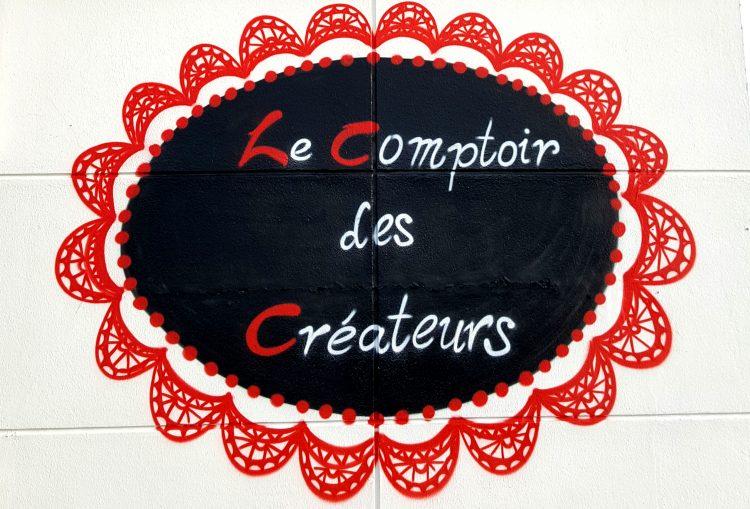 graffiti comptoirs des créateurs