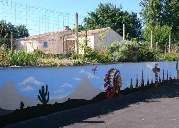 décoratio extérieure graffiti