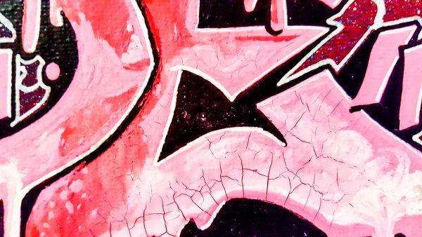 prénom enfant graffiti déco intérieure