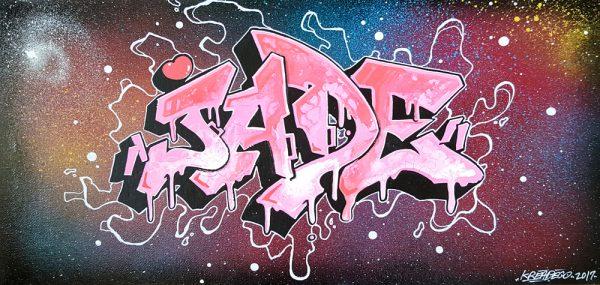 prenom enfant graffiti street art