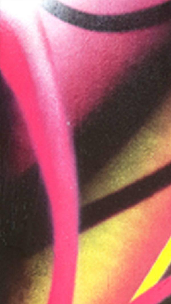 tableau graffiti déco intérieure