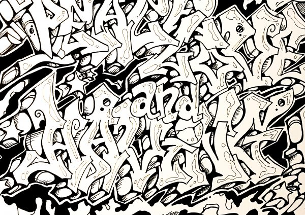 dessin streetart décoration intérieure