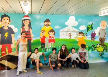 Atelier graffiti maison des jeunes