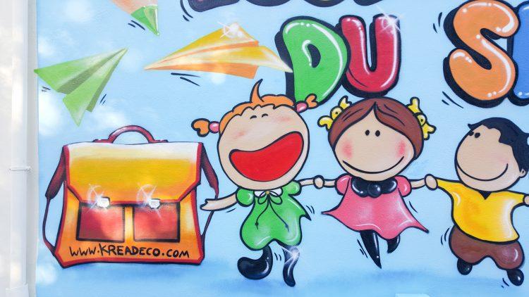 Décoration graffiti enfants