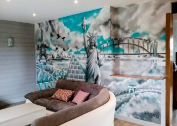 graffiti newyork paris salon