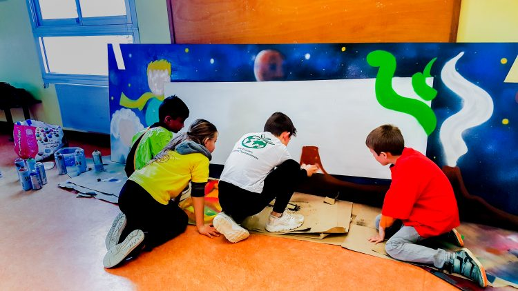 atelier graffiti ecole primaire